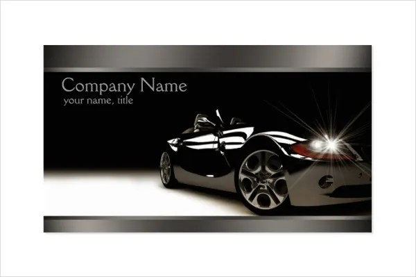 Jnoonan good things come to those who wait: 25+ Automotive Business Card Templates - Ms Word
