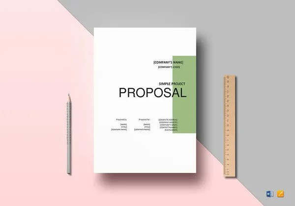 Project Proposal Template 24 Free Word PDF PSD