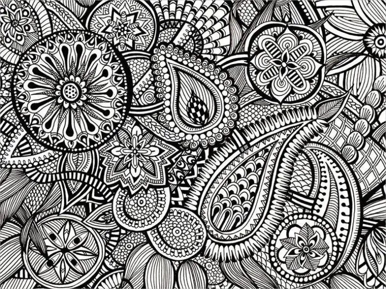21 Zentangle Patterns PSD AI EPS Free Amp Premium