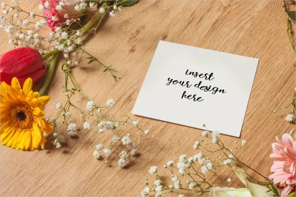 17 Greeting Card Mockups Free PSD AI Vector EPS
