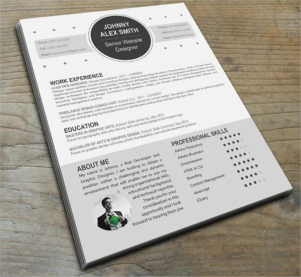 how to write a modern resume for business development