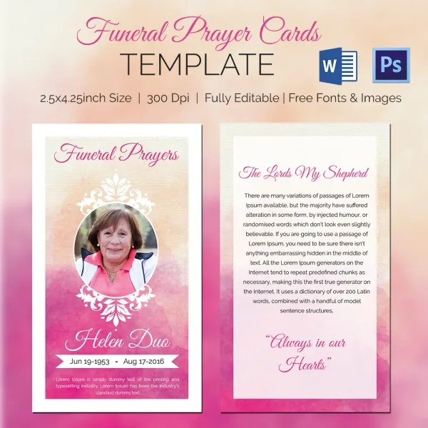 funeral prayer cards templates free download 20 high school diploma templates printables. Black Bedroom Furniture Sets. Home Design Ideas