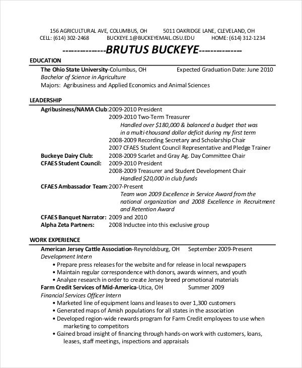 zookeeper resume skills