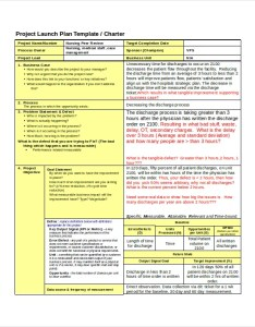 Project Charter Six Sigma Example Also Examples Free Premium Templates Rh Template