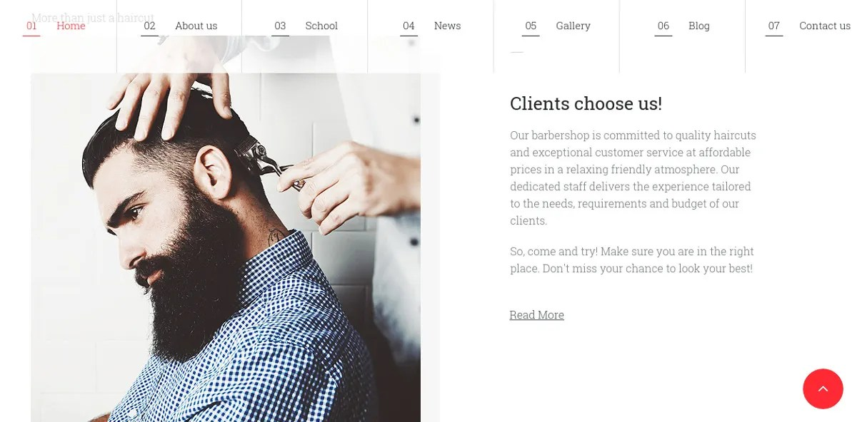 16+ Hair Salon Website Templates & Themes   Free & Premium Templates
