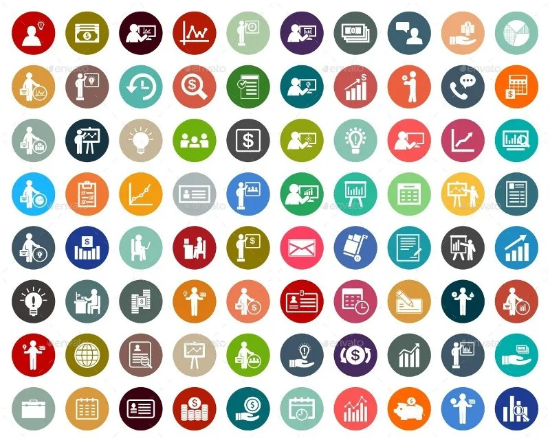 1365 business icons free