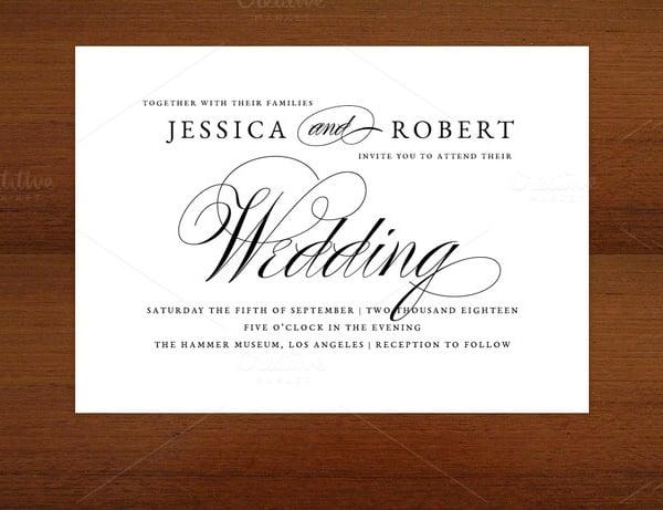 25 Wedding Invitation Templates  PSD EPS PNG Word  Free  Premium Templates