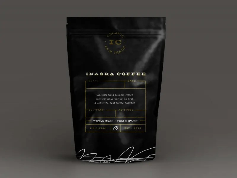 Branded white box and stationery. 28 Excellent Coffee Packaging Bag Designs Psd Ai Free Premium Templates