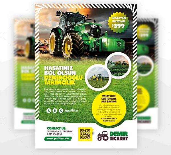 landscaping flyers - psd ai