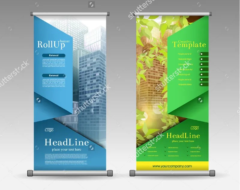 37 roll up banner