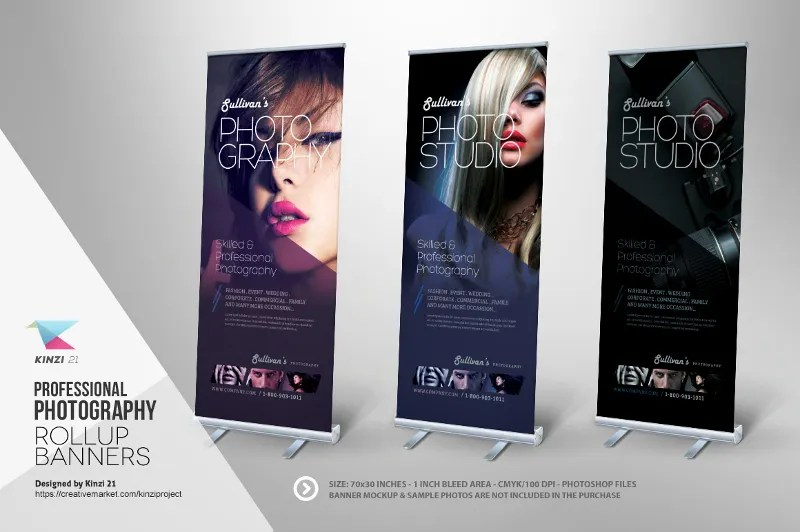 37 Roll Up Banner Designs for Your Advertising Needs