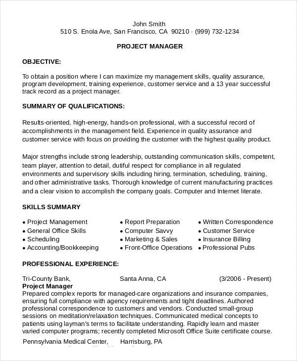 10+ Functional Resume Templates  Pdf, Doc  Free