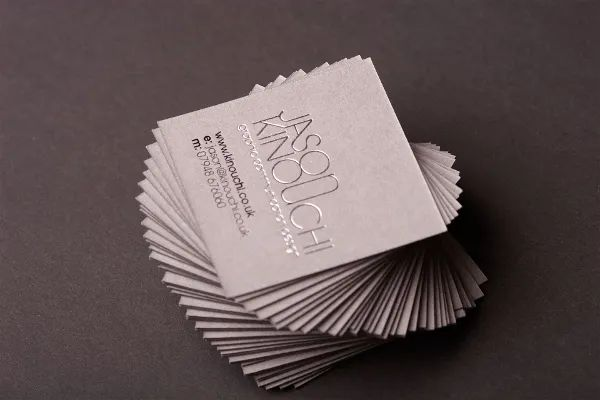 square business card template word