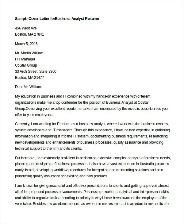 Cover Letter 13 Free Sample Example Format Free Premium Templates