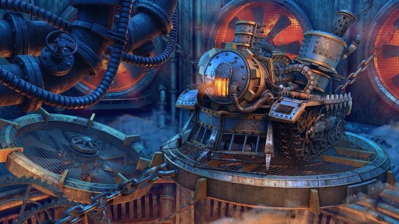Mechanical Interactive Artwork