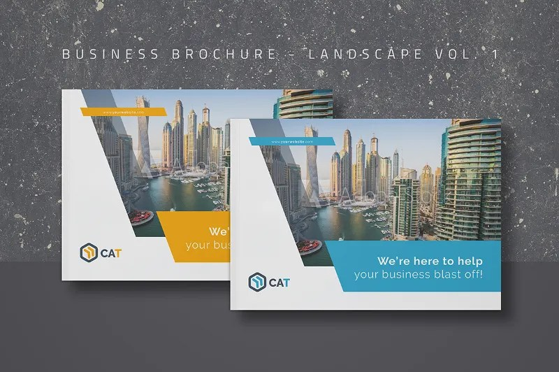 27 Landscape Brochures Free PSD Google Doc Apple