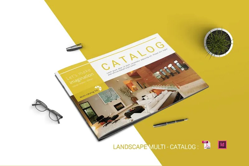 26 Landscape Brochures Free PSD EPS AI Format Download Free