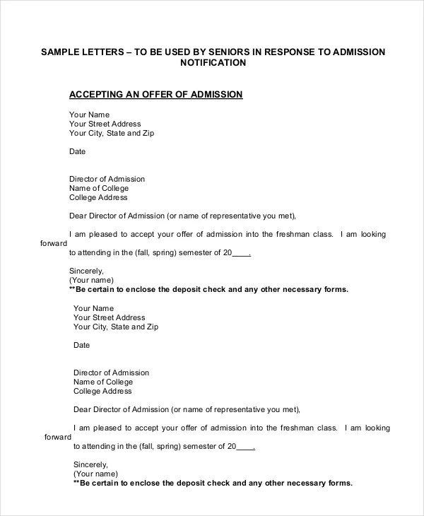 Rescinding Accepted Job Offer Sample Letter | Docoments Ojazlink