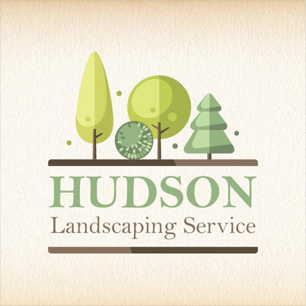 landscaping logos - free psd
