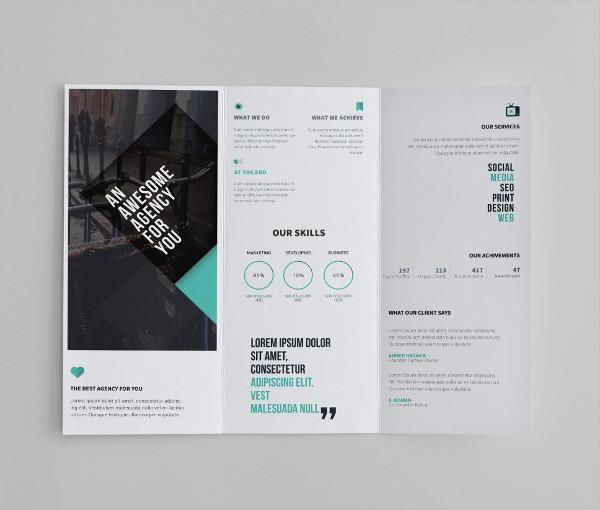 28 Tri Fold Brochure Designs Free PSD Vector AI EPS