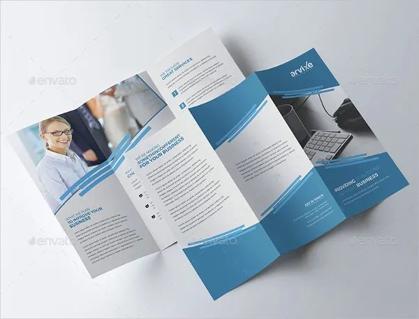 24 Tri Fold Brochure Designs Free PSD Vector AI EPS Format