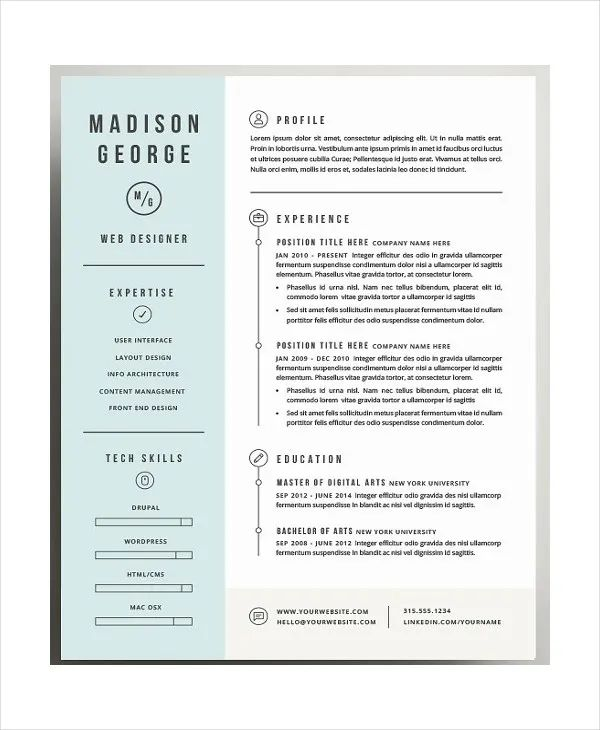 employment resume cover letter template