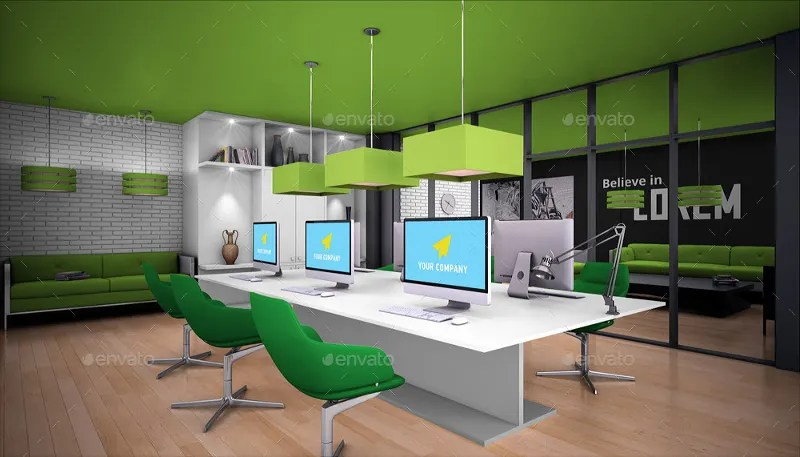 19 Modern Office Branding Mockup Designs  Templates  PSD AI  Free  Premium Templates
