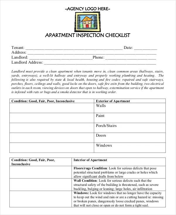 Stunning New Apartment Checklist Photos - Moder Home Design ...