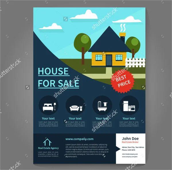 best real estate flyers design