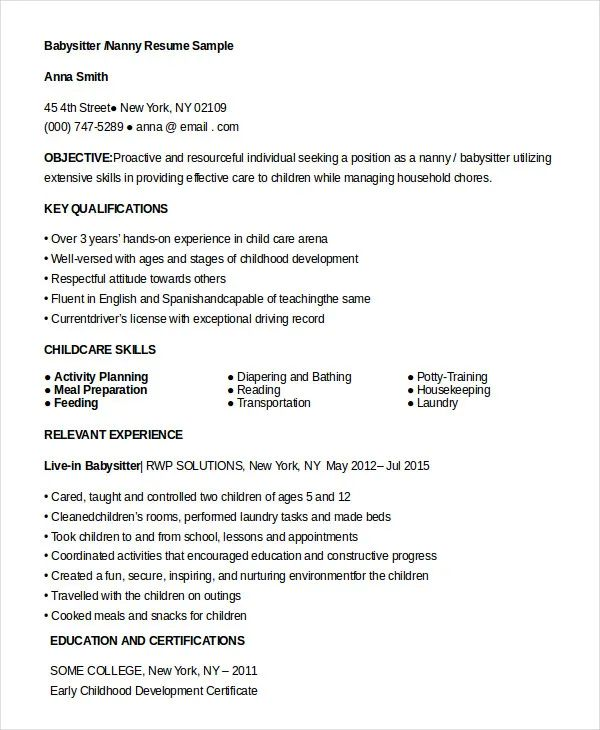 examples of certifications for resume