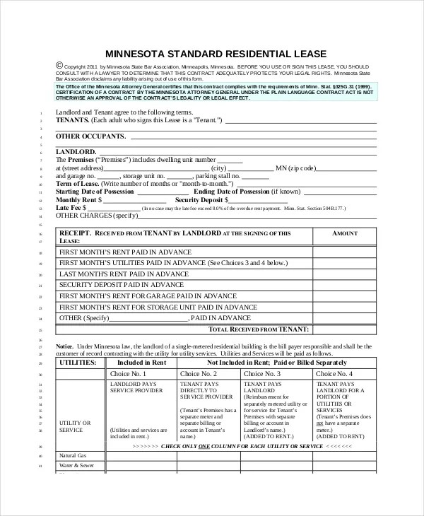 9 Apartment Lease Agreement Templates Word PDF Pages Free Amp Premium Templates