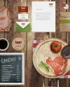 19 Beautiful Restaurant Branding Mockups Psd Free Premium Templates