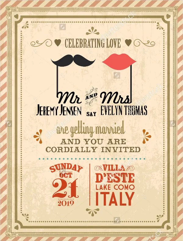 38 Simple Wedding Invitation Templates  PSD AI Word Pages Publisher  Free  Premium Templates