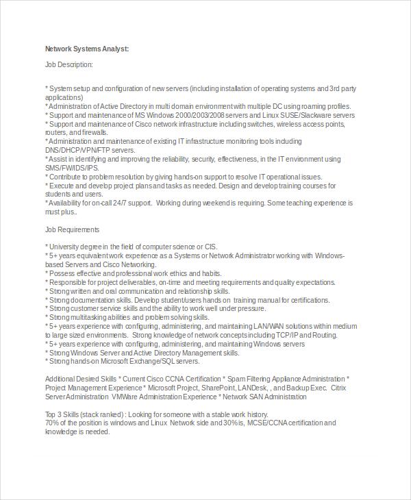 Program Analyst Job Description Senior Computer Programmer In10