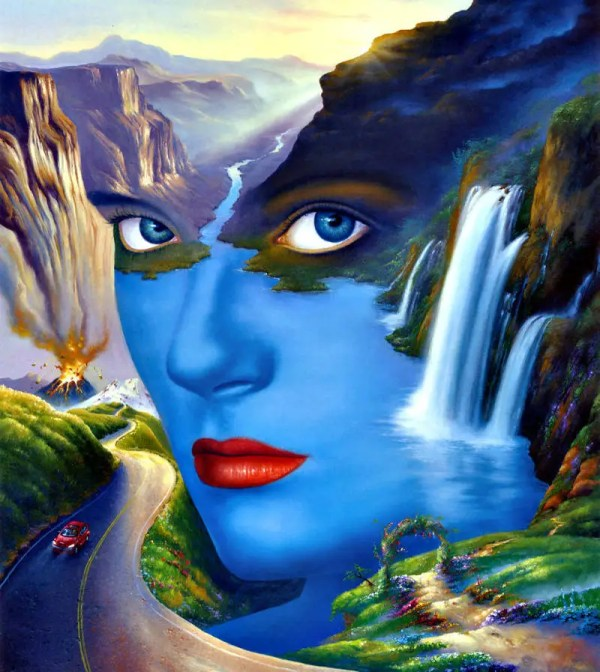 Mother Nature Paintings Surrealism