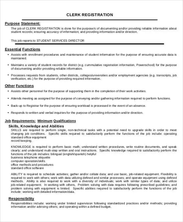 Medical Registration Clerk Cover Letter - Cover Letter Resume Ideas ...