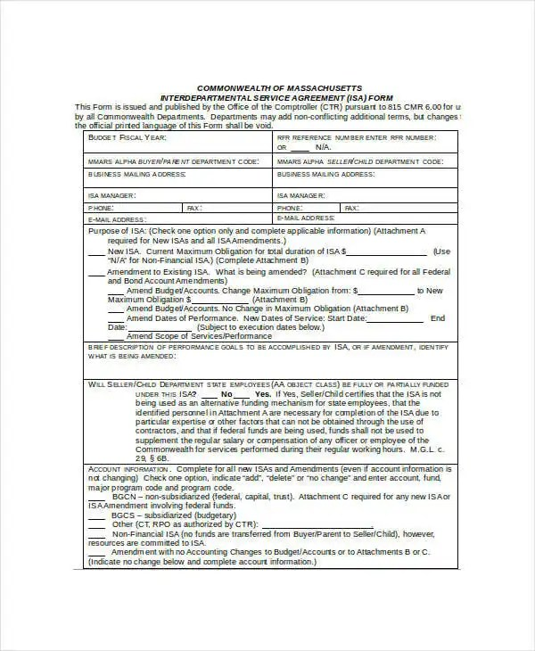 Service Agreement Template - 14+ Free Word, PDF Documents Download ...