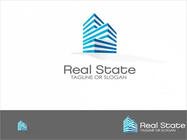 10 Real Estate Logos  Free  Premium Templates