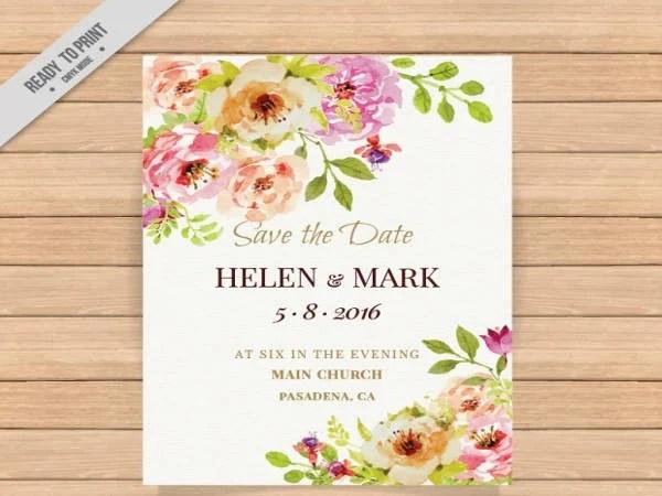 Free Wedding Invitation Card