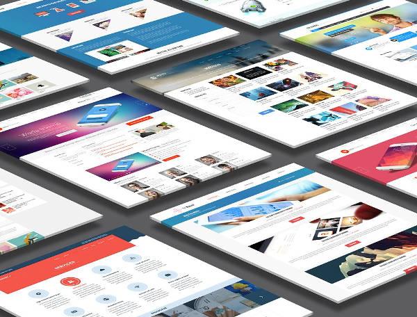 15+ Examples of Web Mockups   Free & Premium Templates
