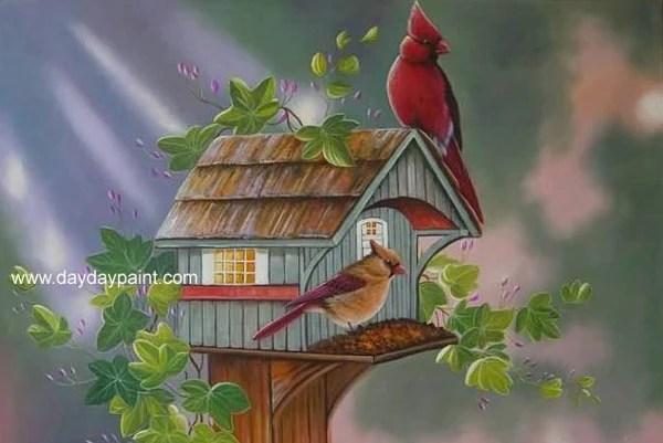 17 Beautiful Bird Paintings  Free  Premium Templates