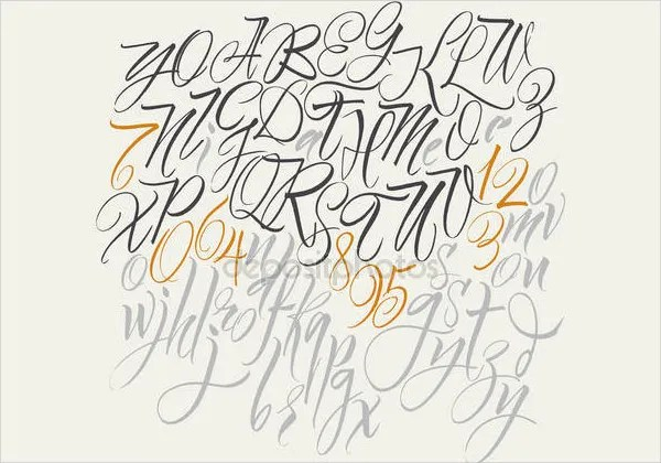 Tag Fancy Cursive Letters To Copy And Paste Wall Graffiti Art