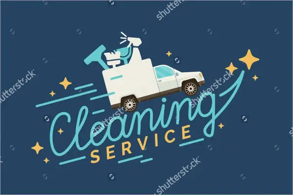 9 Examples of Cleaning Logos  Free  Premium Templates