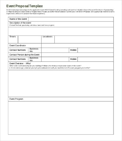 Request For Proposal Template 13Free Word PDF Documents Download Free Premium Templates