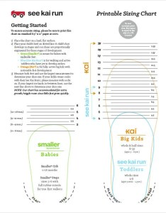 Printable baby shoe size chart also free pdf documents download rh template