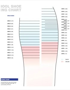 Printable school shoe size chart also free pdf documents download rh template