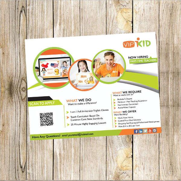Teacher Brochure Templates 9 Free PSD Vector AI EPS