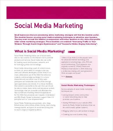 16 Social Media Plan Template