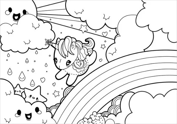 aesthetic pages coloring pages