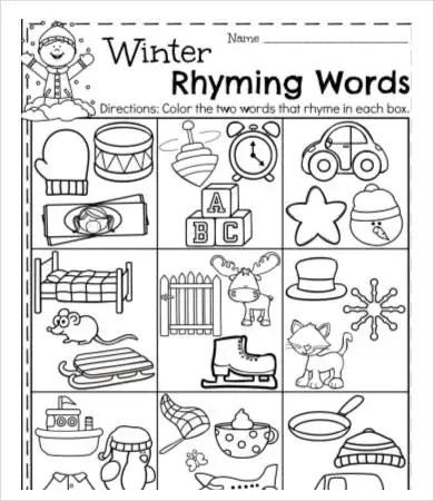 Nursery Homework Worksheets ~ TheNurseries